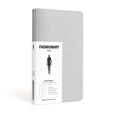 Fashionary Mini Felt Mens (Grey)