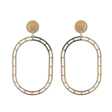 Golden STORE earrings