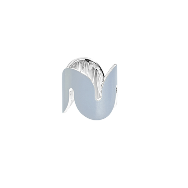 Pale blue Wave ring