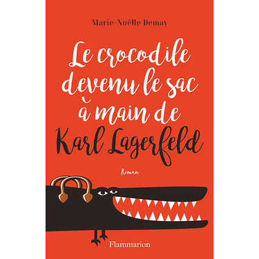 Le crocodile devenu le sac a main de Karl Lagerfeld