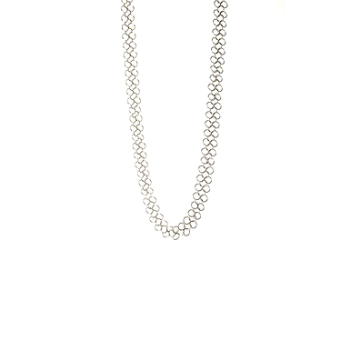 Necklace 92 XL Basics - Silverish