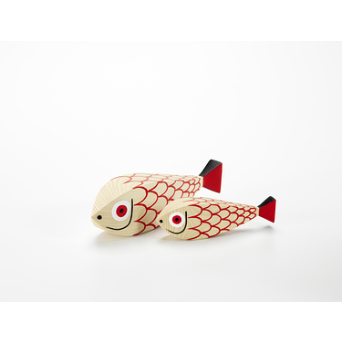 Wooden Doll Fish
