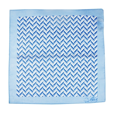Light Blue Scarf Gio Ponti