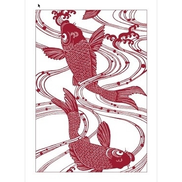 Red Fish Towel