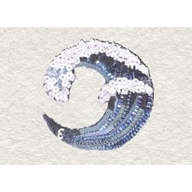 Broche La Grande Vague