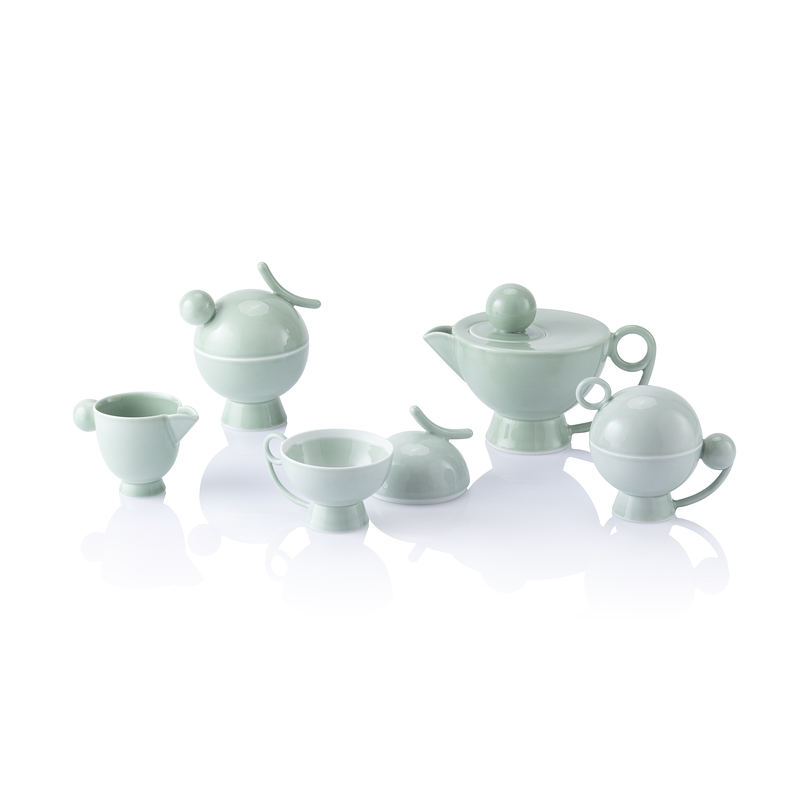 Tea and coffee set - Celadon