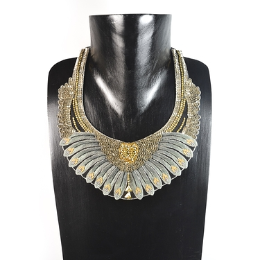 Nishka Military necklace