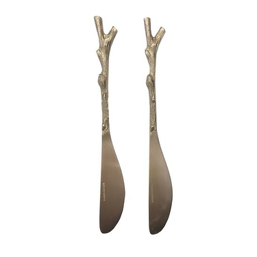 Butter knife Twiggy - Two piece set