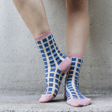 Chaussettes Ginza Blue 36/38