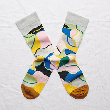 Multicolor Patchwork Socks 39/41