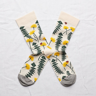 Natural Dandelions socks 39/41