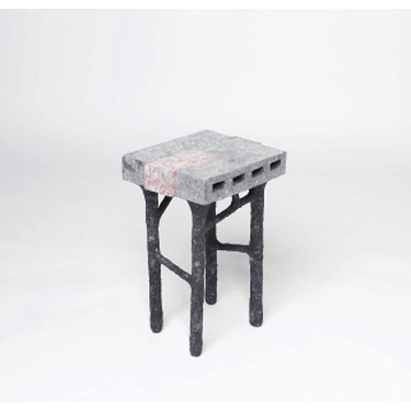 Studio Woojai - Paper Bricks Sculpt Stool