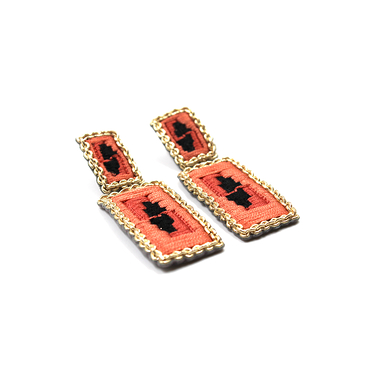 Maharajah Rectangular Earrings