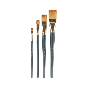 Acrylic brushes x4
