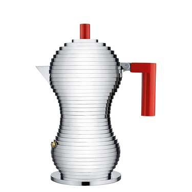 Coffee maker espresso Pulcina Alessi Red