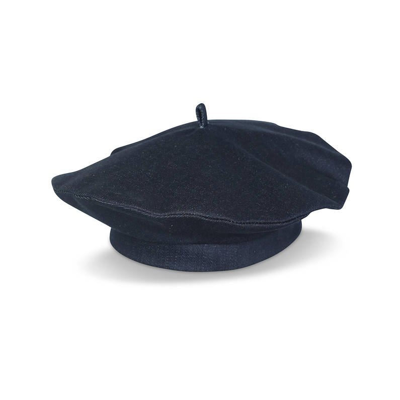 Beret Denim Blue