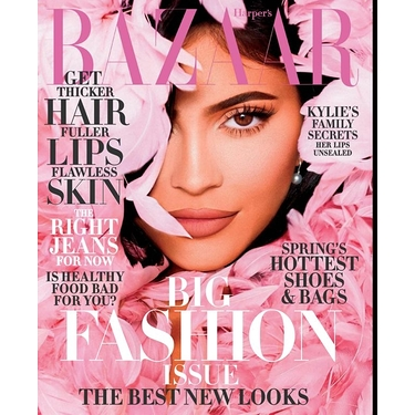 Harpers Bazaar March Usa Magazine
