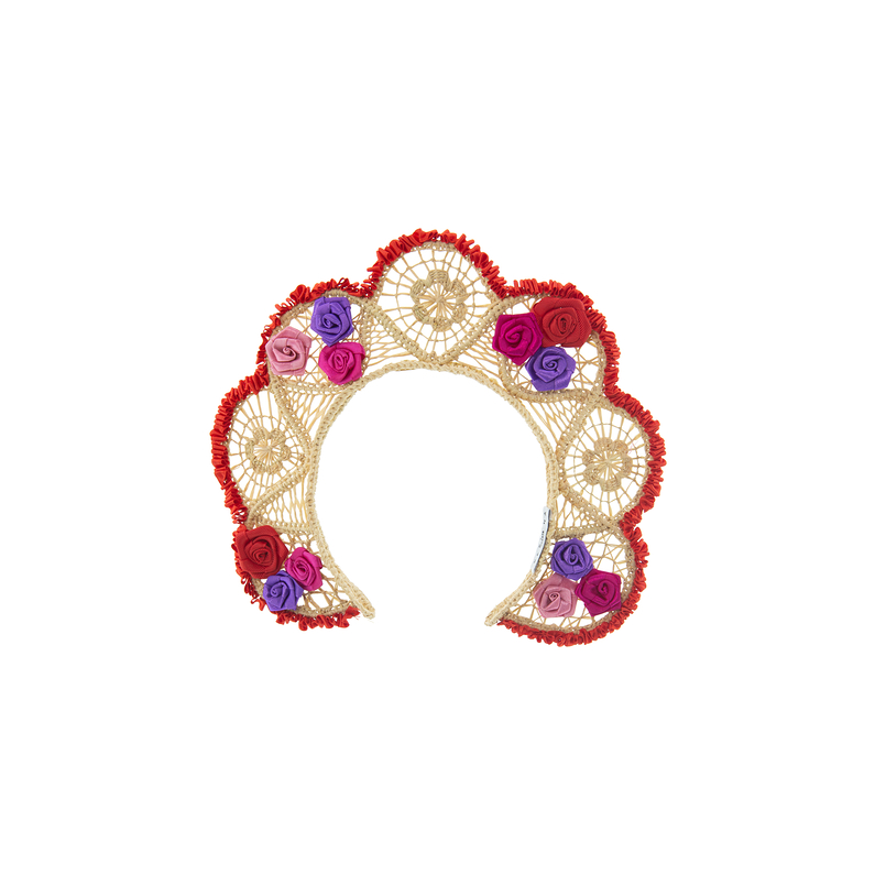 Couronne Rosal White Red Pink Mauve