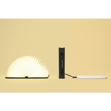 Mini LUMIO LAMP Orange/Black