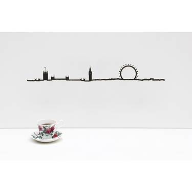 The Line London Black 50 cm