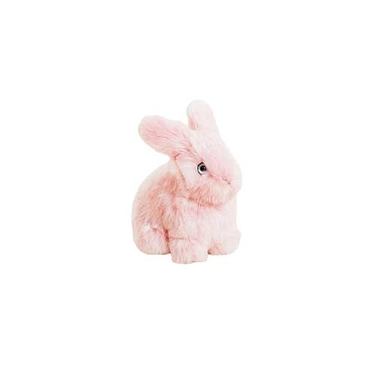 Pink Rabbit Leon - La Pelucherie