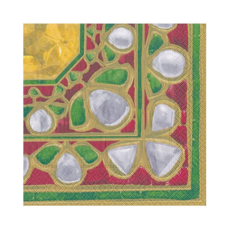 Bejeweled Paper Luncheon Napkins