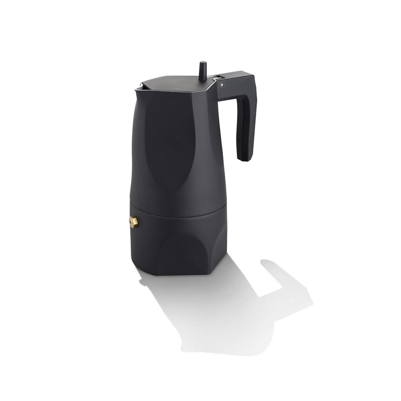 Espresso coffee maker Ossidiana Black 15cl