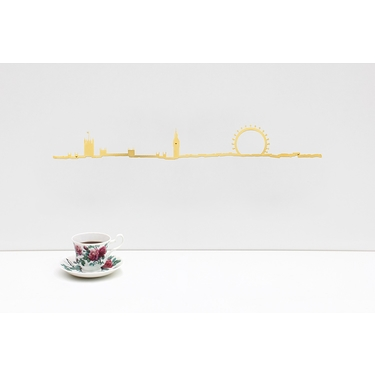 The Line London Golden 50 cm