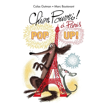 Chien pourri à Paris - Pop up !